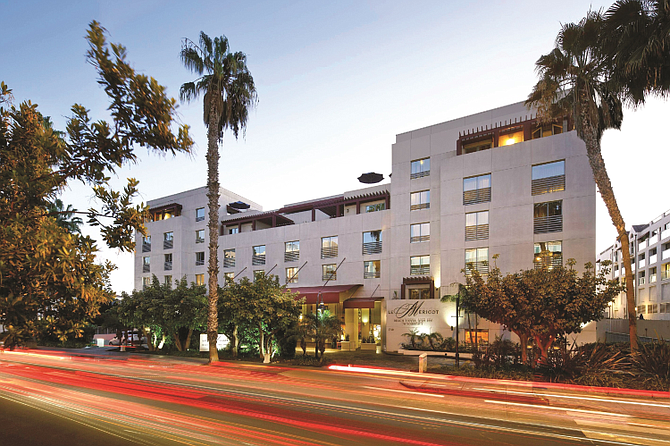 JW Marriott Le Merigot Santa Monica tied as the top sale in the first half of 2021 at $75 million.