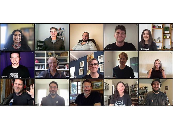 Photo courtesy of Wildfire Systems. Wildfire Systems team, including CEO Jordan Glazier, bottom row center.