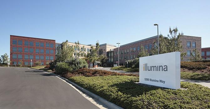 Illumina, Inc. headquarters in San Diego, Calif.