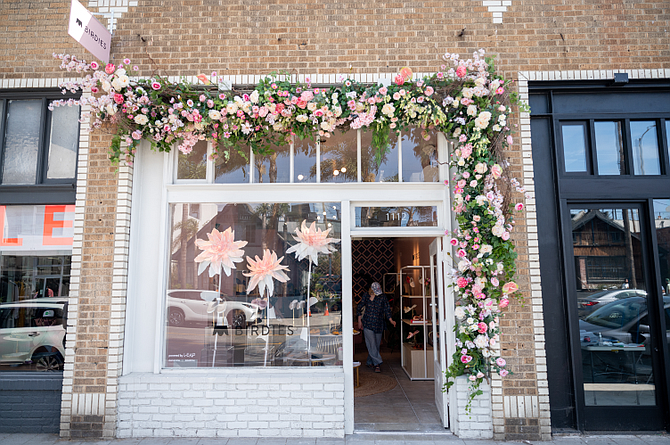 Leap worked with Birdies to open a shop on Abbot Kinney in Venice.