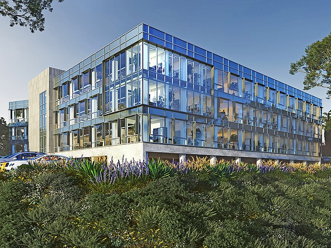 Photo Courtesy of Alexandria Real Estate Equities, Inc. Artiva's San Diego NK cell therapy research and GMP manufacturing facility will be located at 5505 Morehouse Drive, a building being newly redeveloped by Alexandria Real Estate Equities, Inc.