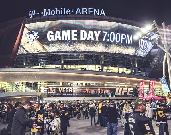 Mobilitie's 5G projects include T-Mobile Arena in Las Vegas