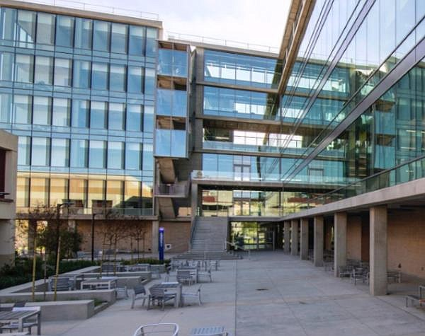 UCI's new Interdisciplinary Science and Engineering Building, one of the campus sites where the university's CPRI cybersecurity institute has space and facilities