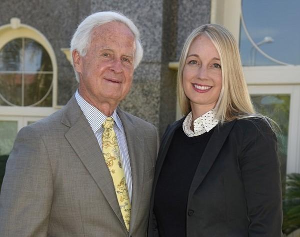 Igor Olenicoff and Natalia Ostensen
