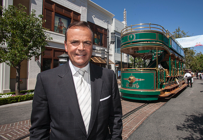 Rick Caruso redefined shopping in Los Angeles.