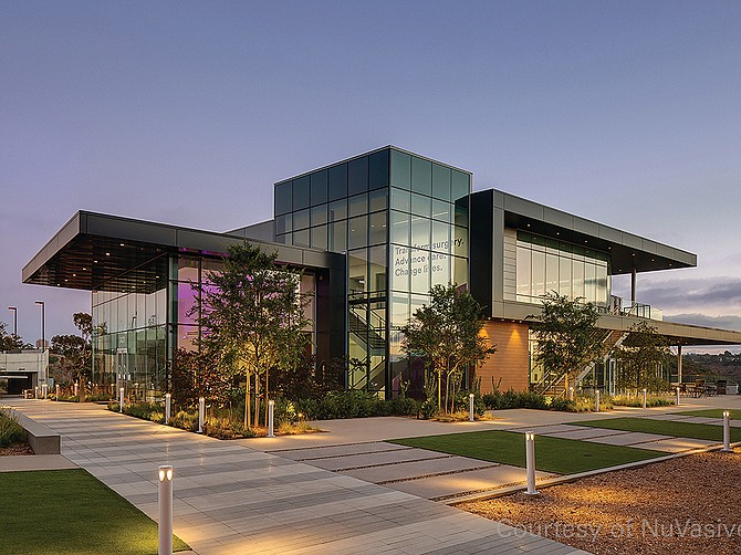 Photo Courtesy of NuVasive In 2020, NuVasive opened the West Coast Experience Center in San Diego, and in third quarter 2021 the company will open an additional surgeon training facility on the east coast.