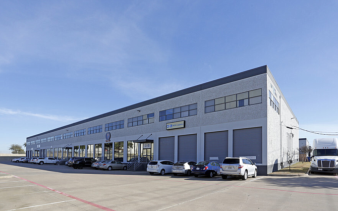 Building at Port America in Grapevine, Texas.