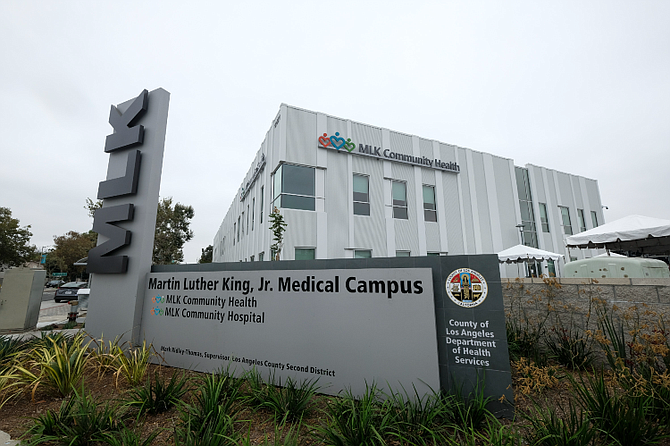 MLK Jr. Community Hospital increased its budget to pay for travel nurses.