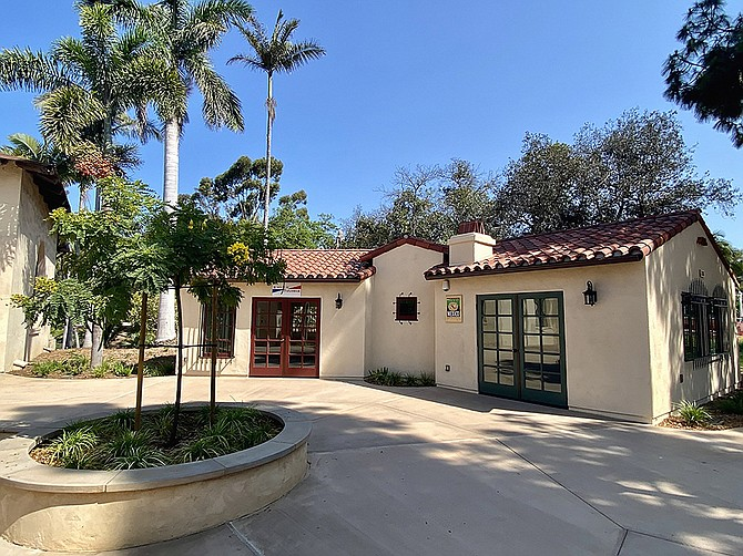 Photo courtesy of Conan Construction Five new international cottages were formally opened in Balboa Park in August.