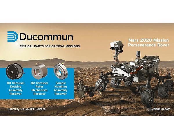 Santa Ana company's work has included parts for Mars rover