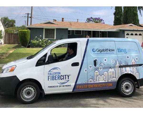FiberCity project in Fullerton up and running with one-third of city built out