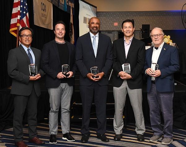 Innovator of the Year award winners