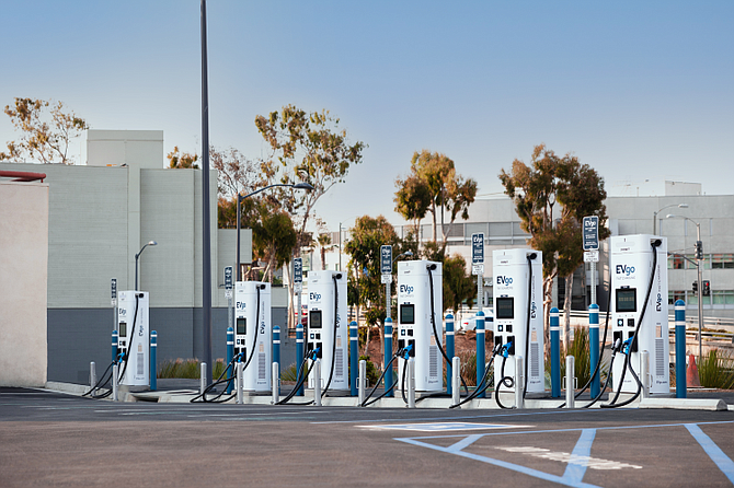 EVgo said its fast chargers are a good option for drivers who live in multiunit buildings.