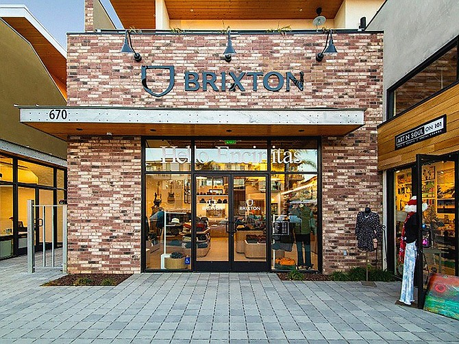 Photo Courtesy of Brixton Inc. Brixton Inc, founded in 2004 and headquartered in Oceanside, is scheduled to open five brick-and-mortars before the end of the year.