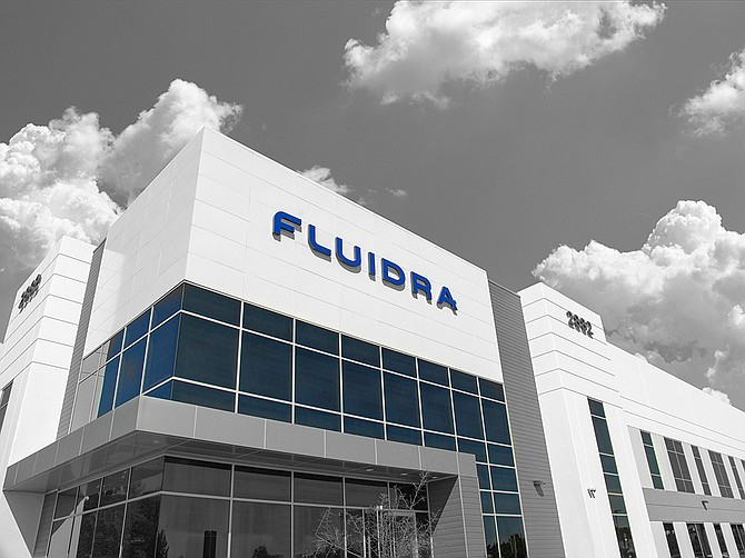 Photo courtesy of Fluidra. Fluidra employees more than 300 at its manufacturing facility in Carlsbad