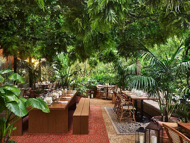 Edition's restaurant, Ardor, reopened in June.