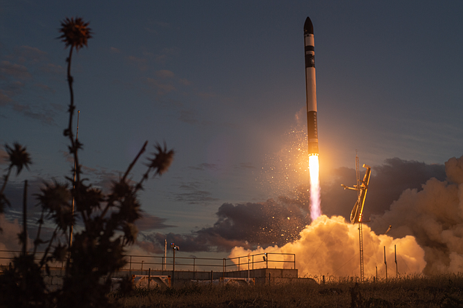 Rocket Lab inked a deal with Kinéis to deploy 25 satellites.