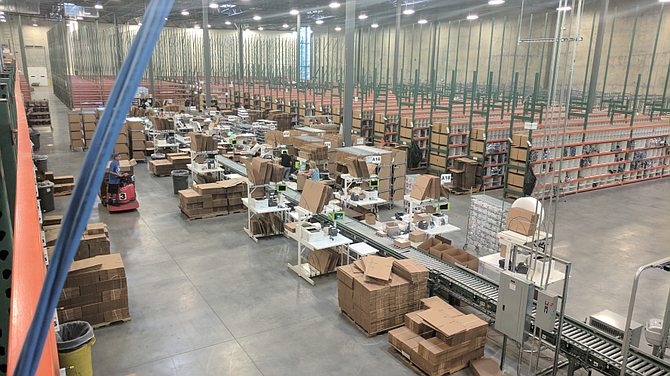 Enlinx operates a 400,000-square-foot distribution center in Salt Lake City.