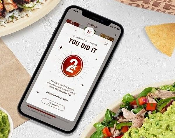 New feature for Chipotle Rewards '24M loyalty program members