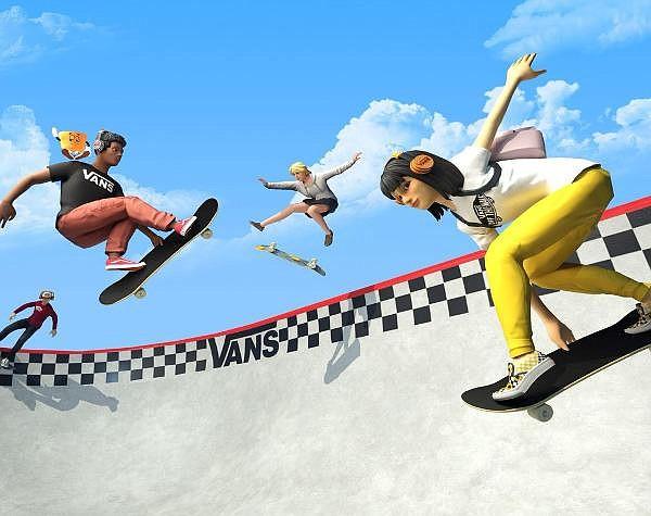 Skating in the Vans metaverse