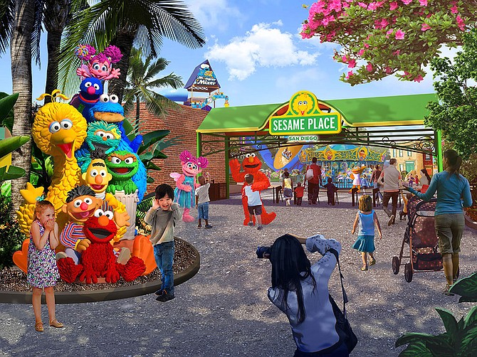 Rendering Courtesy of SeaWorld Entertainment Inc. SeaWorld Entertainment Inc., in partnership with Sesame Place San Diego, will open Sesame Place San Diego March 2022.