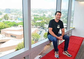 Jason Wilk moved Dave's headquarters to the Pacific Design Center in West Hollywood.