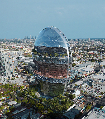 MAD Architects designed the 22-story tower.
