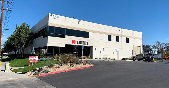 The distribution center in Corona.