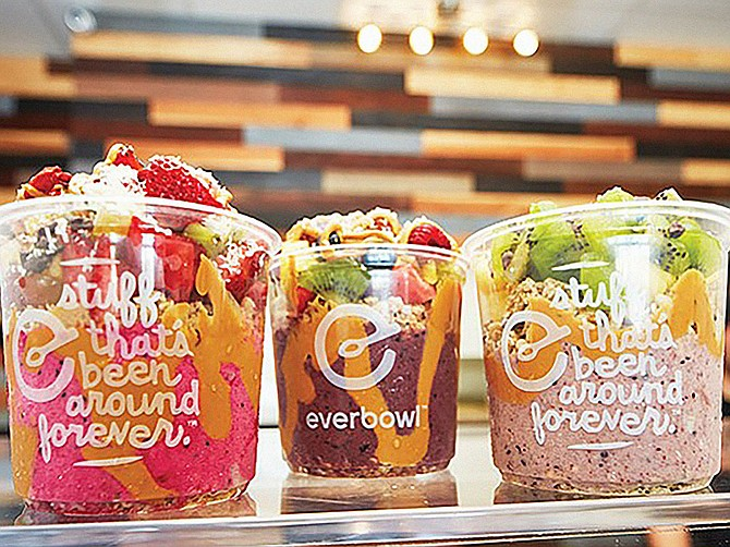 Photo Courtesy of Everbowl Everbowl, founded in 2016 and headquartered in Vista, has opened its first store in Texas.