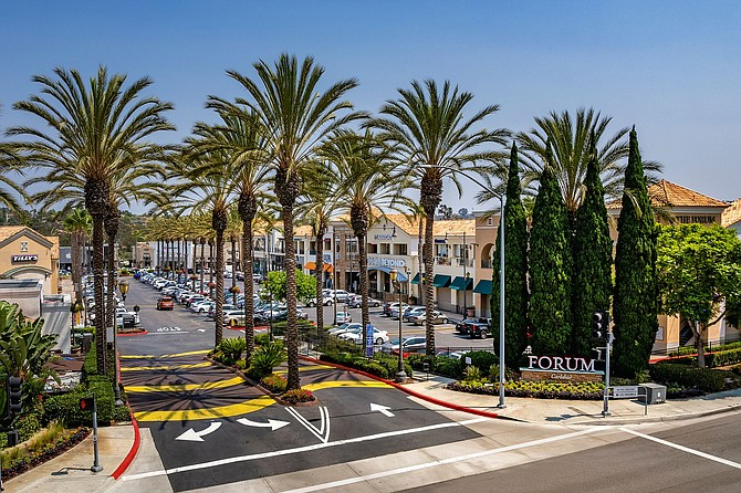 Photo courtesy of Northwood Investors.  The Forum Carlsbad will get a new look and new tenants.