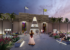 Rendering courtesy of Comic-Con. The San Diego Comic Convention has set a late November soft opening for the Comic-Con Museum in Balboa Park.