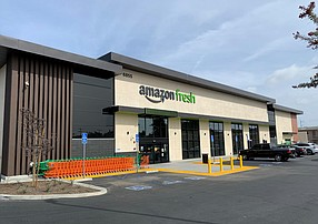 An Amazon Fresh in Westchester.