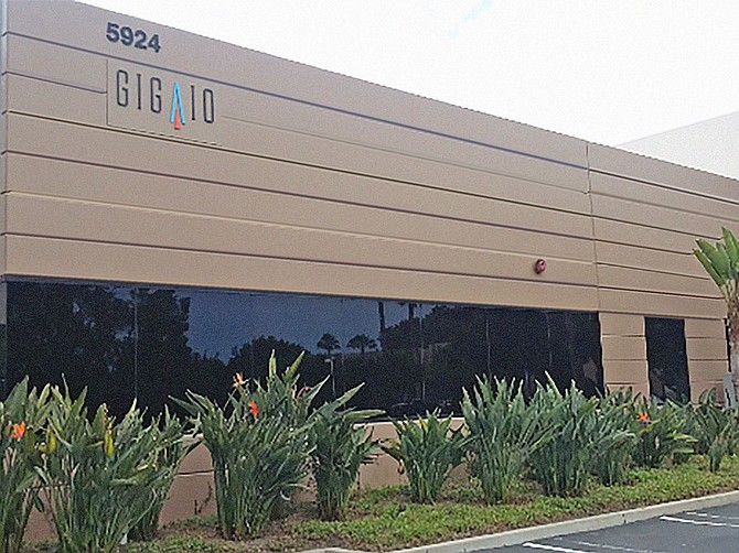 Carlsbad-based GigaIO is seeing success with its composable infrastructure fabric technology.