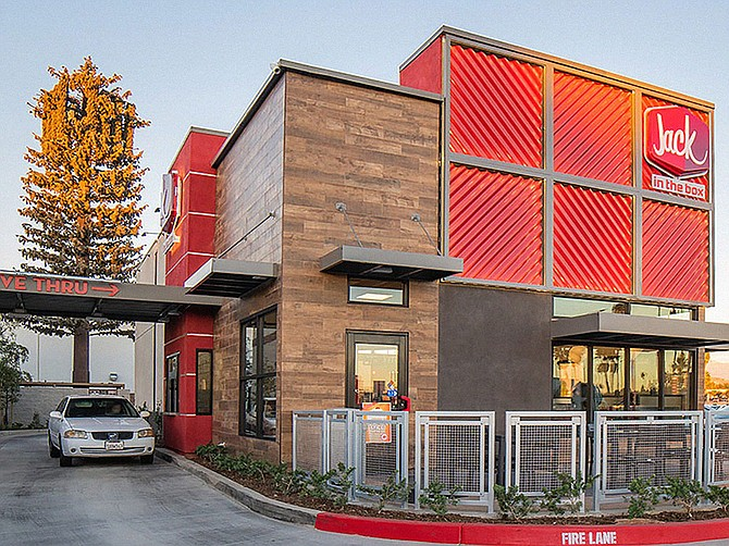 Photo Courtesy of Jack in the Box Inc. Jack in the Box Inc., founded in 1951 and headquartered in Kearny Mesa, has 16 signed franchise agreements to build another 64 locations.