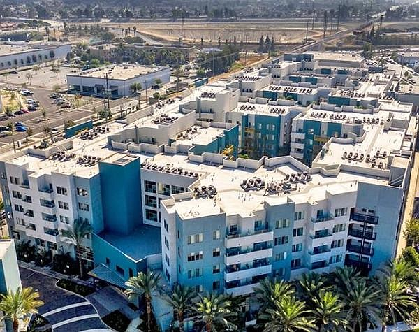 Oasis Anaheim: two-building. 312-unit property sold to LA-based multifamily investor
