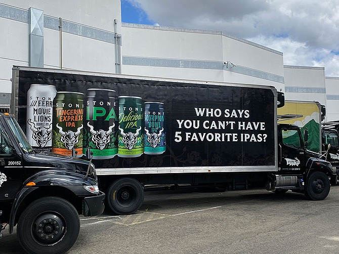 Photo Courtesy of Stone Distributing Co. Stone Distributing Co., founded in 1999 and headquartered in San Marcos, now accounts for 20% of the craft beer market in Southern California.