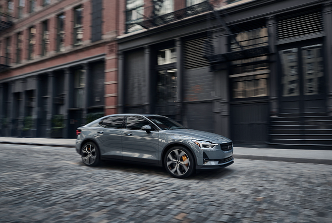 The Polestar 2 has a starting price of $45,900.