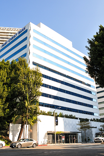 First Credit Bank in West Hollywood is the most profitable bank in Los Angeles County.