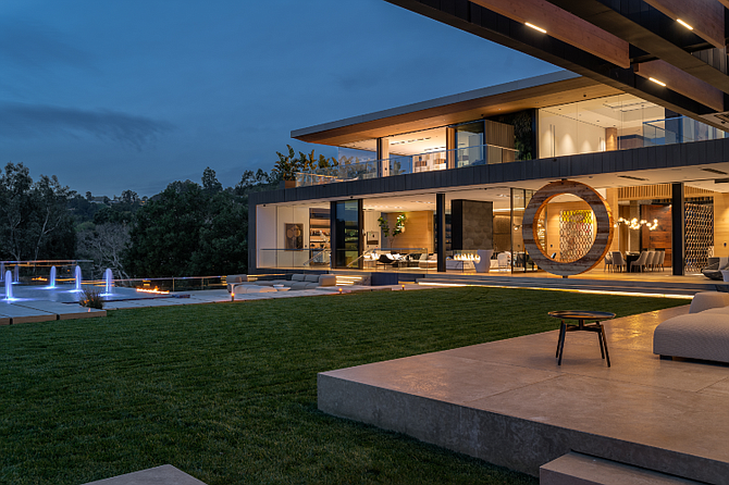Kirman sold a home at 281 Bentley Circle in Bel Air for $45 million.