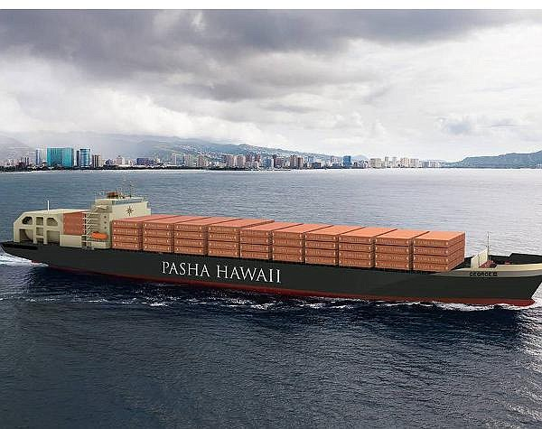 Clean Energy's LNG will help reduce pollution from a pair of container ships