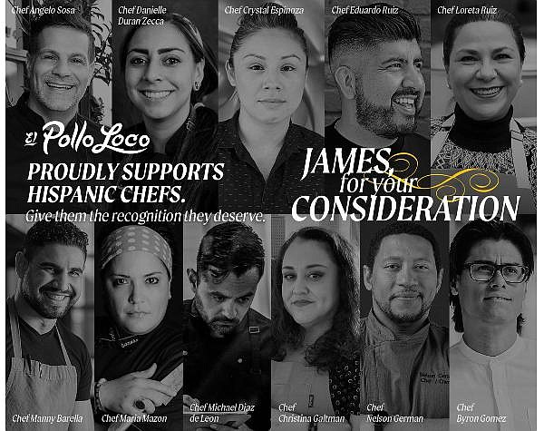 For Your Consideration campaign put the spotlight on 11 Hispanic chefs
