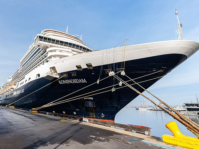 Photo Courtesy of Port of San Diego As of Oct. 1, the Port of San Diego has welcomed back passengers. It is anticipating more than 100 cruise calls through May 2022.