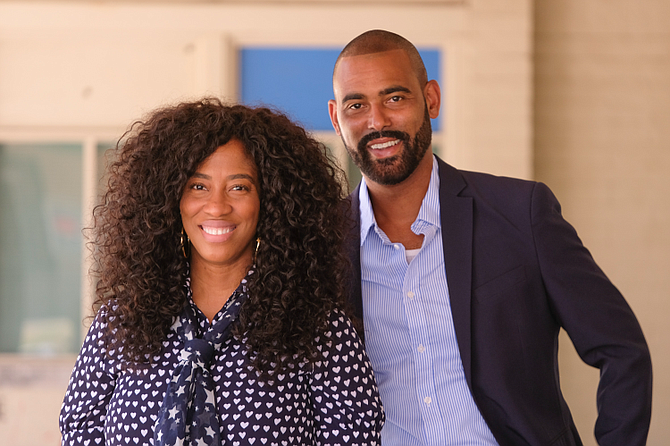 Shondrella Avery (left) and Dylan Mooney, founders of Actor Trade.
