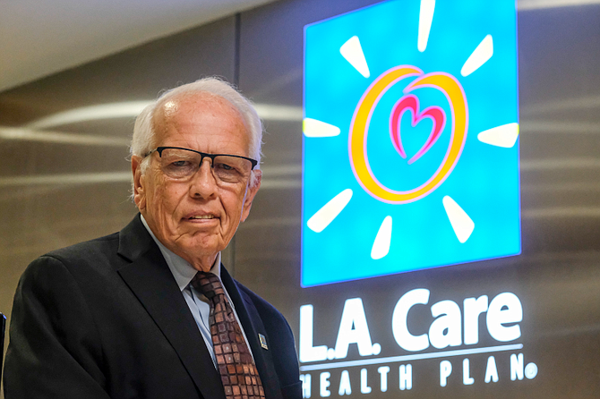 L.A. Care Chief Executive John Baackes expanded the insurance provider's mission.
