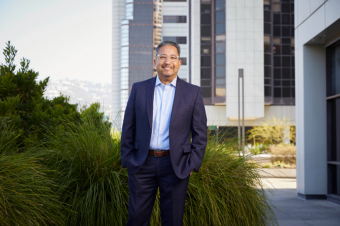 Chief HR Officer Andy Ortiz said Cedars-Sinai created a crisis care program for employees.