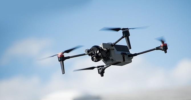 Teledyne Flir's ION M640x drone.