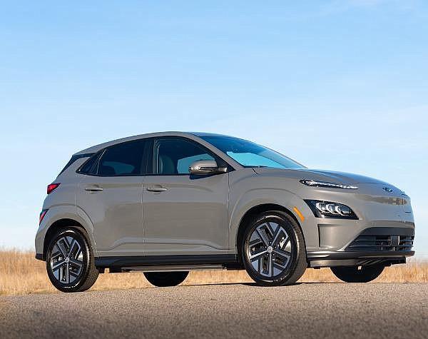Hyundai's 2022 Kona electric vehicle