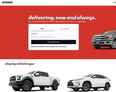 E-commerce company Vroom focused on the used vehicle market