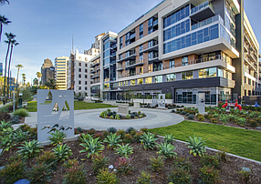 Built as luxury housing in 2019, the Oceanaire in Long Beach is now part of CSCDA's middle-income program.