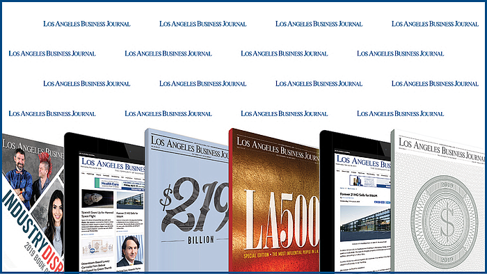 Los Angeles Business Journal Homepage | Los Angeles Business